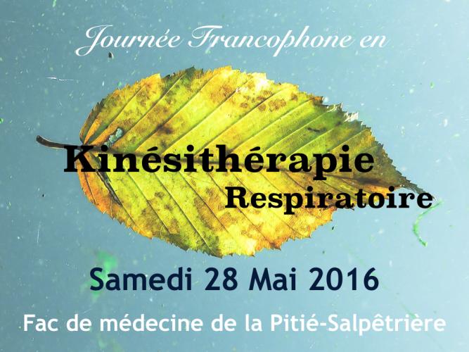 Découvrez les partenaires de la 1ère journée francophone en Kinésithérapie Respiratoire !