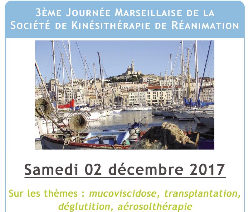 3ème Journée Marseillaise de la SKR – Mucoviscidose, transplantation, déglutition, aérosolthérapie